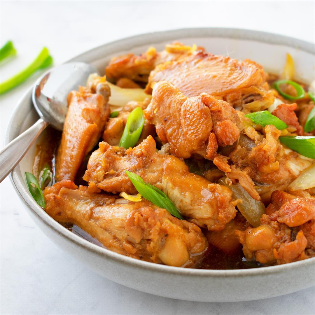 Vietnamese Caramelised Ginger Chicken (rice dish)