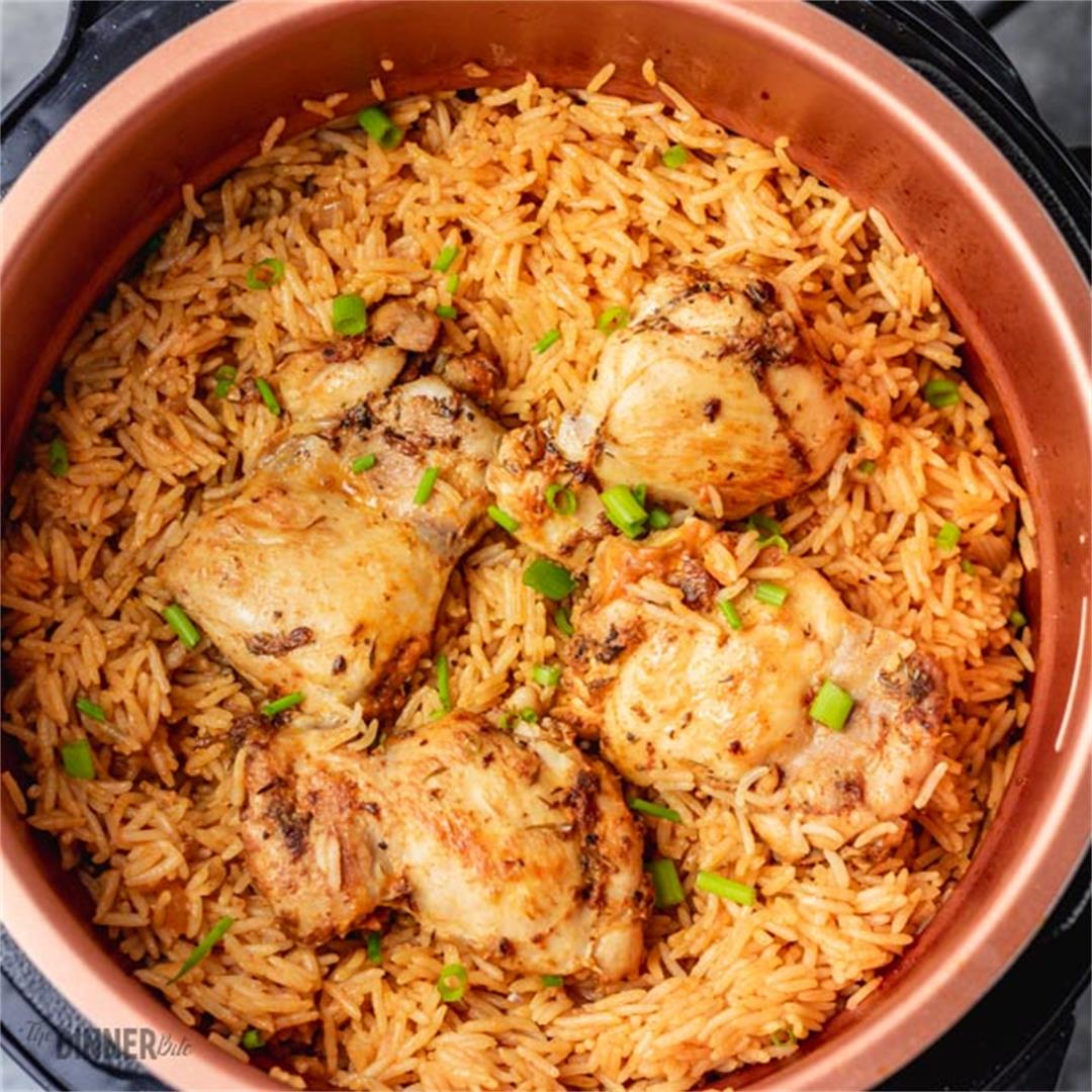 Pressure cooker Rice and Chicken
