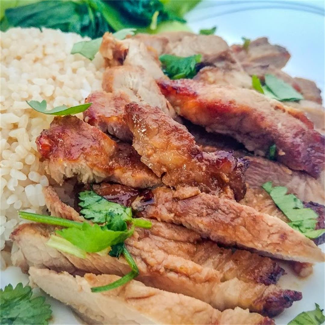Vietnamese Style Pork Chops