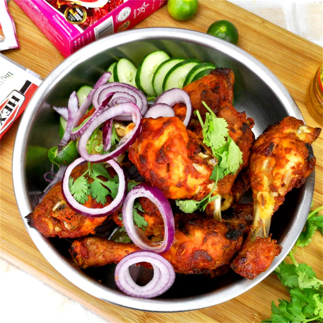 Oven baked tandoori chicken - How to prepare in 3 easy steps