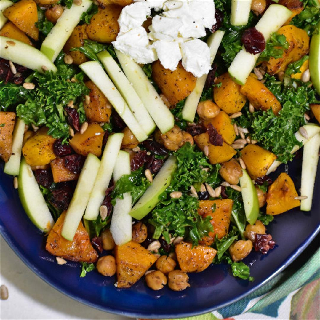 Thanksgiving Kale Salad