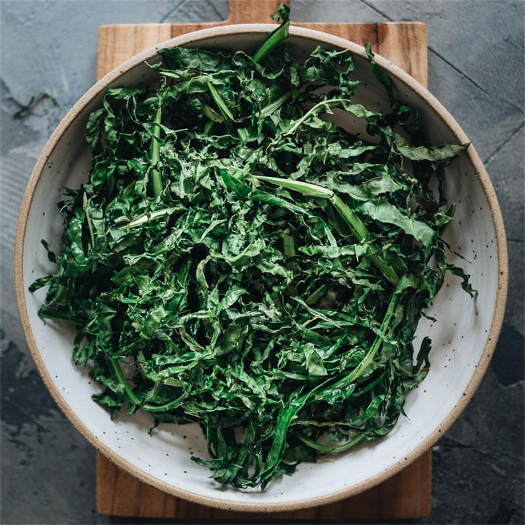 Air Fryer Kale