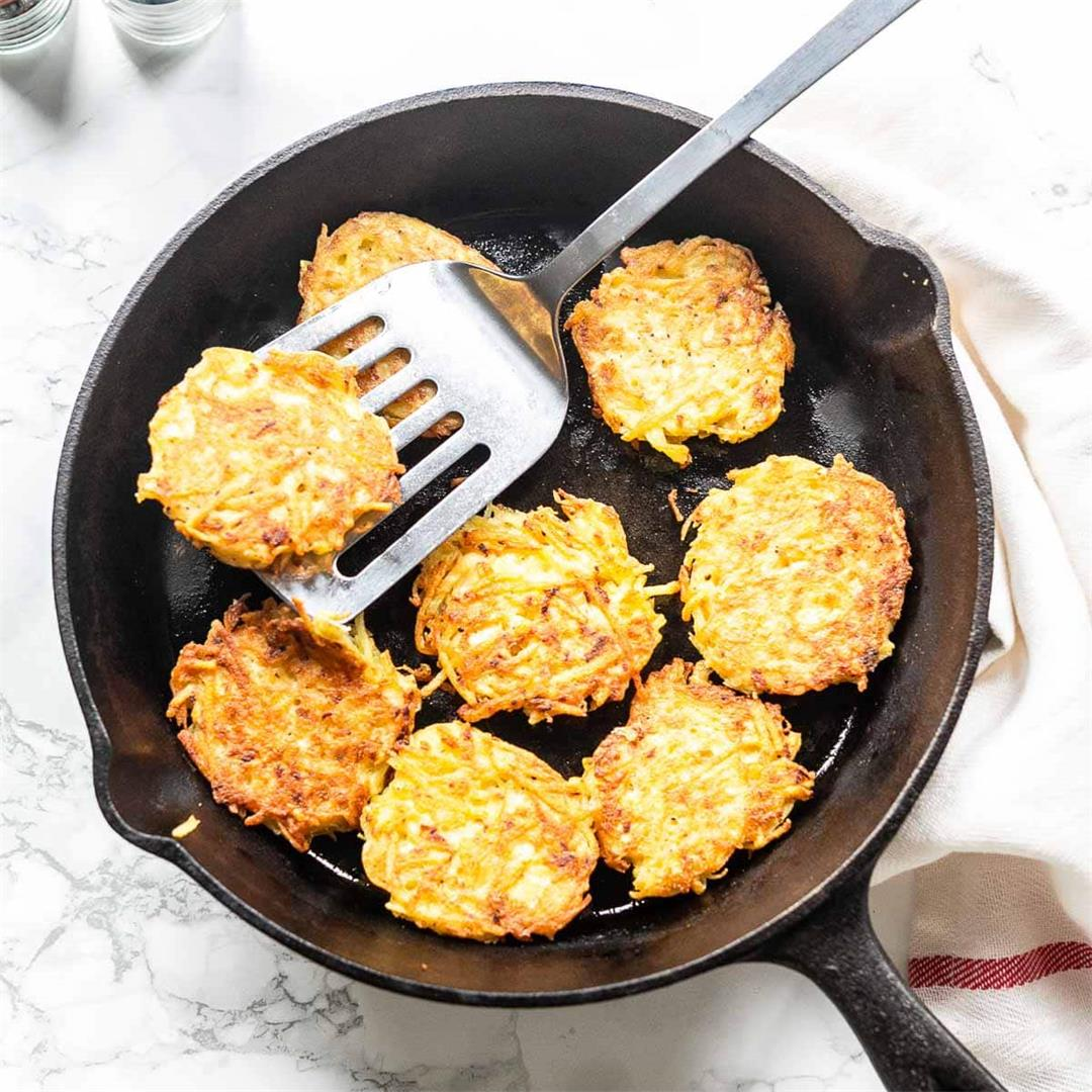 How to make hash browns {easy recipe}