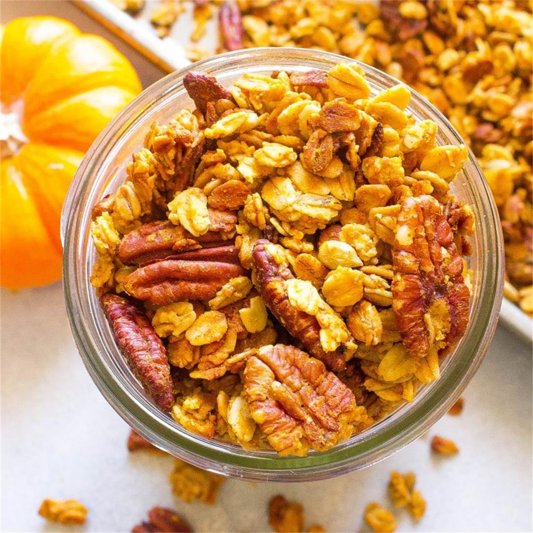 The Best Pumpkin Spice Granola