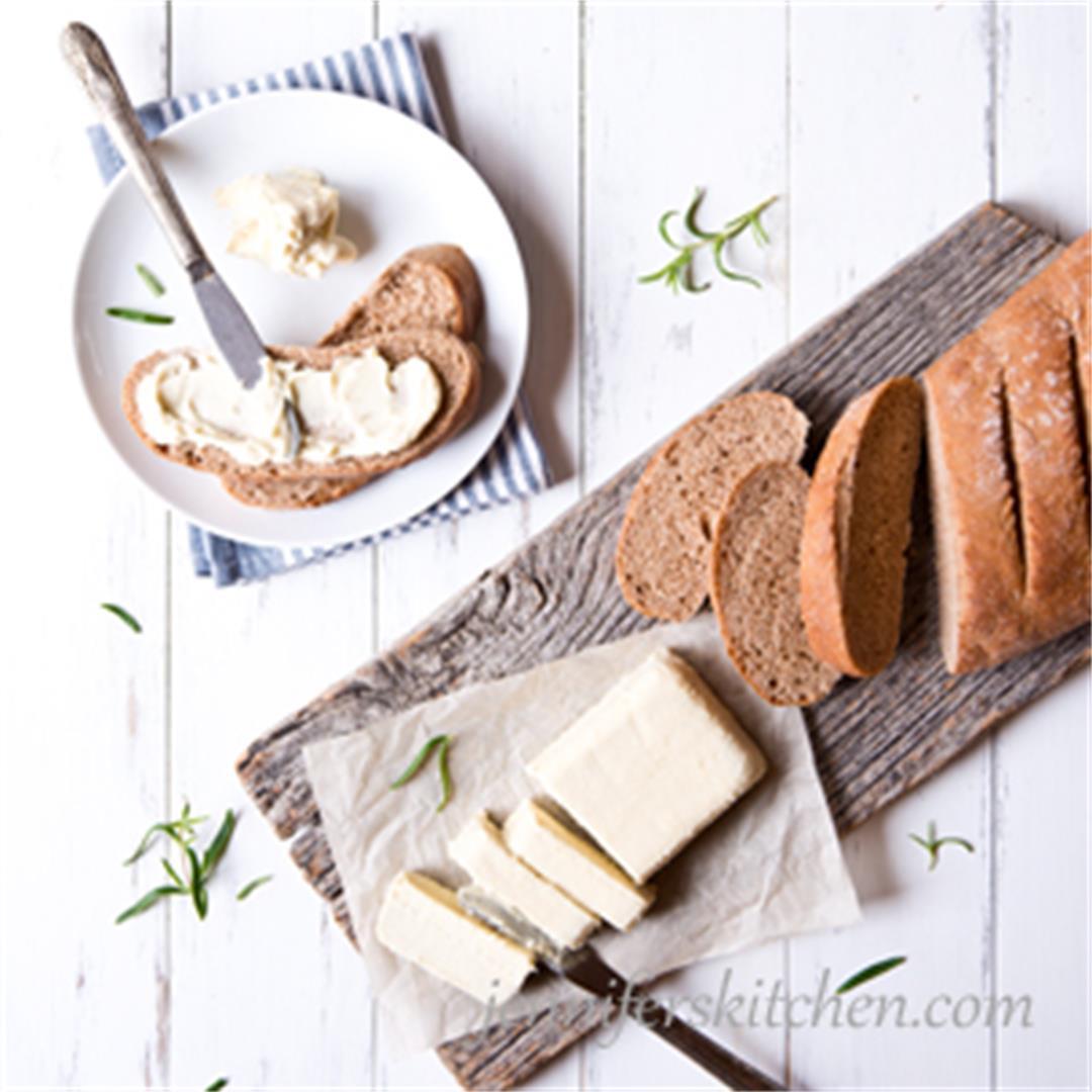 Vegan Millet Butter (Healthy Buttery Spread)