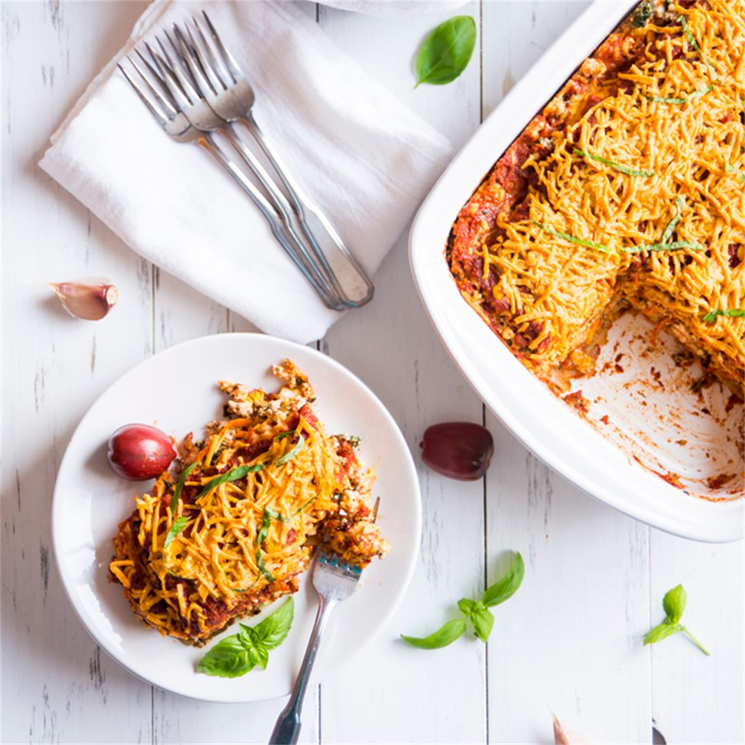 Amazing Vegan Lasagna