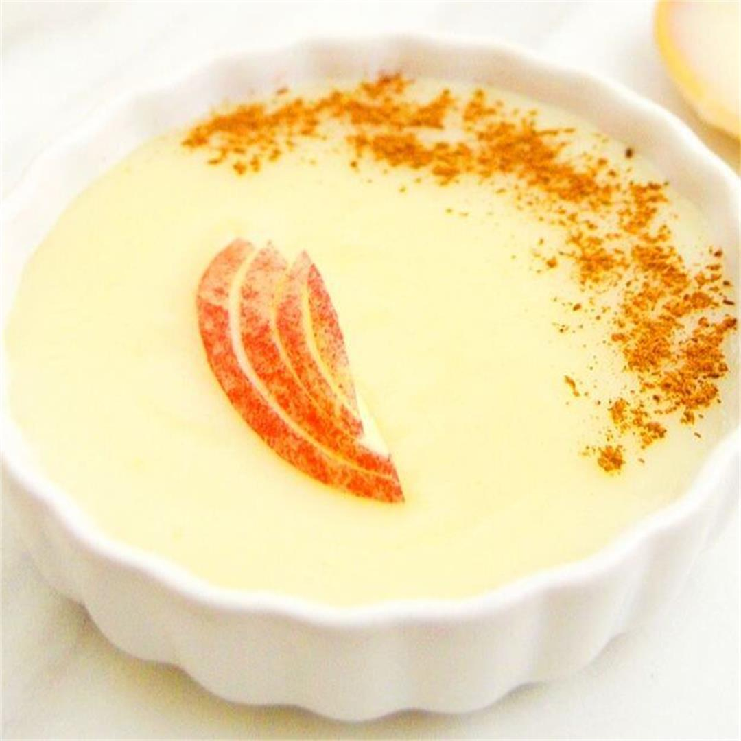 Coconut Milk Custard (Vegan Custard Sauce + Video)