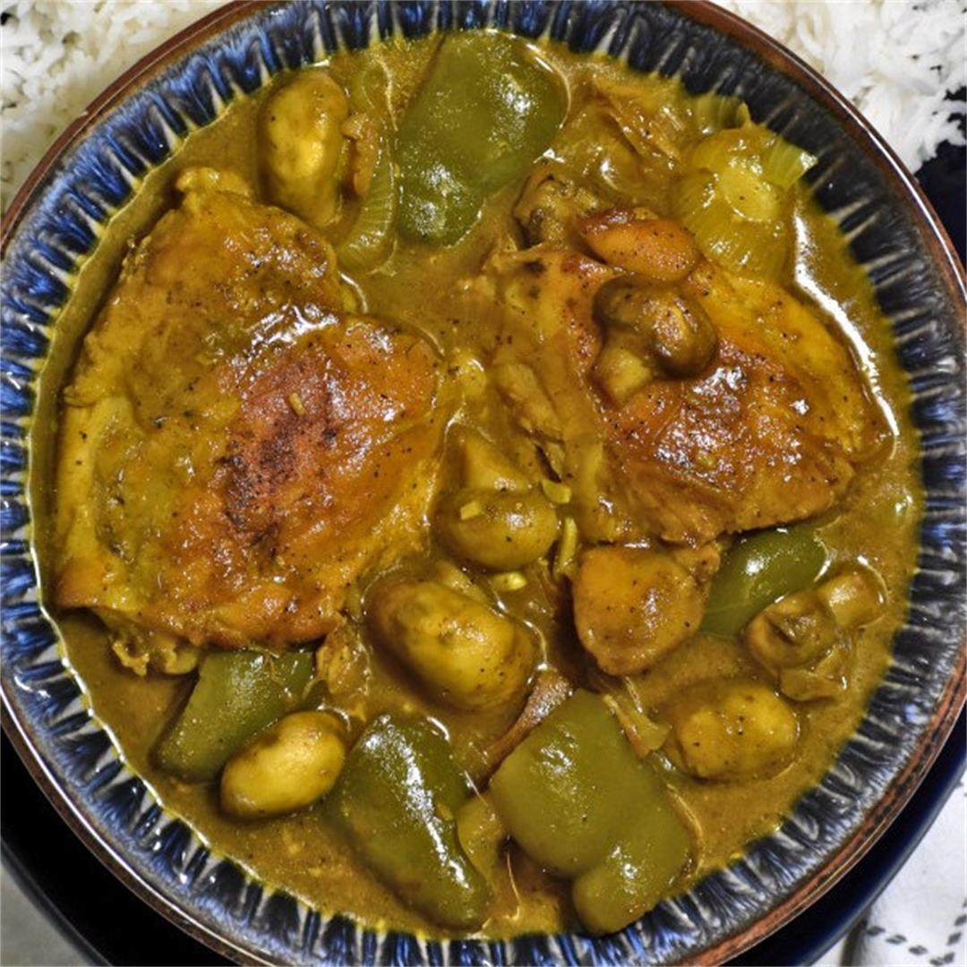 South African Chicken Curry