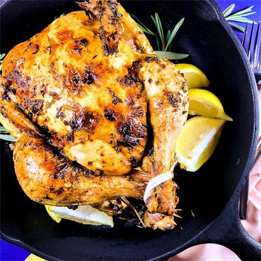 Easy Zesty Lemon Roasted Chicken (Paleo, AIP, Whole30)