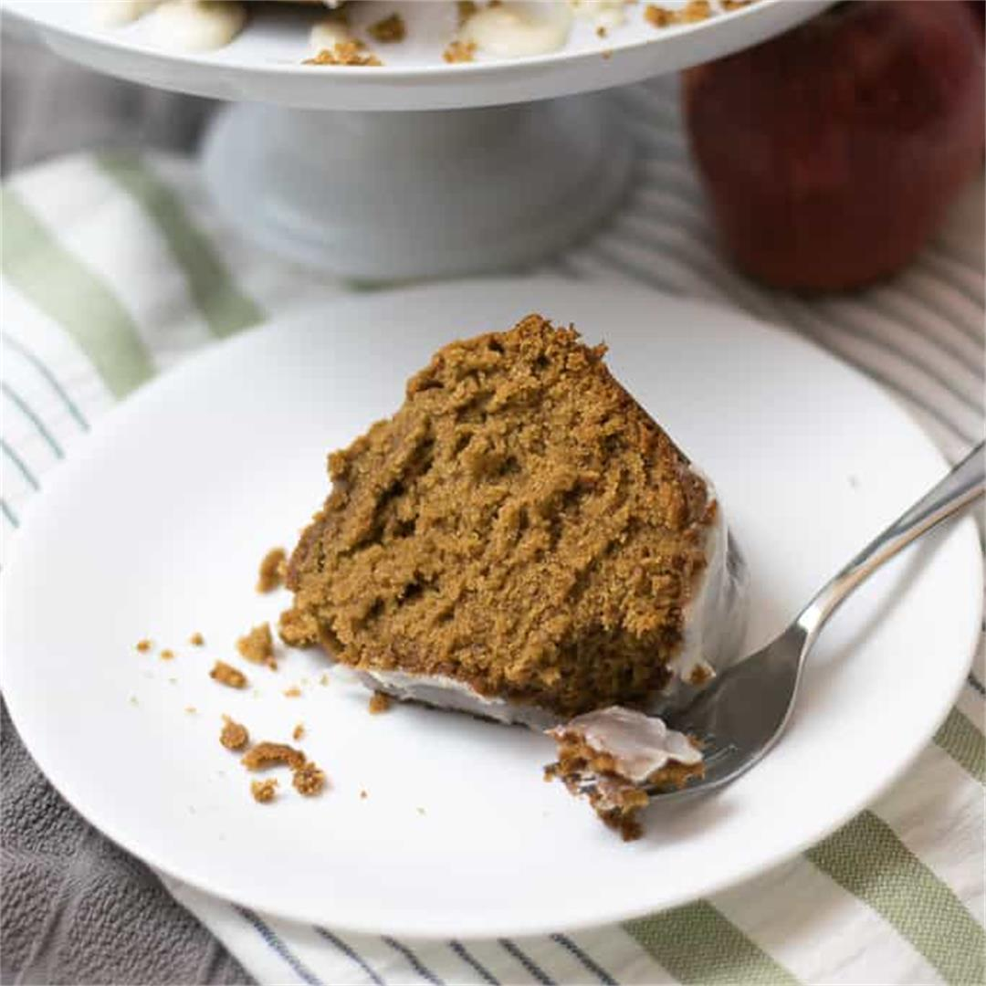 Apple Butter Cake — JMK Bakes