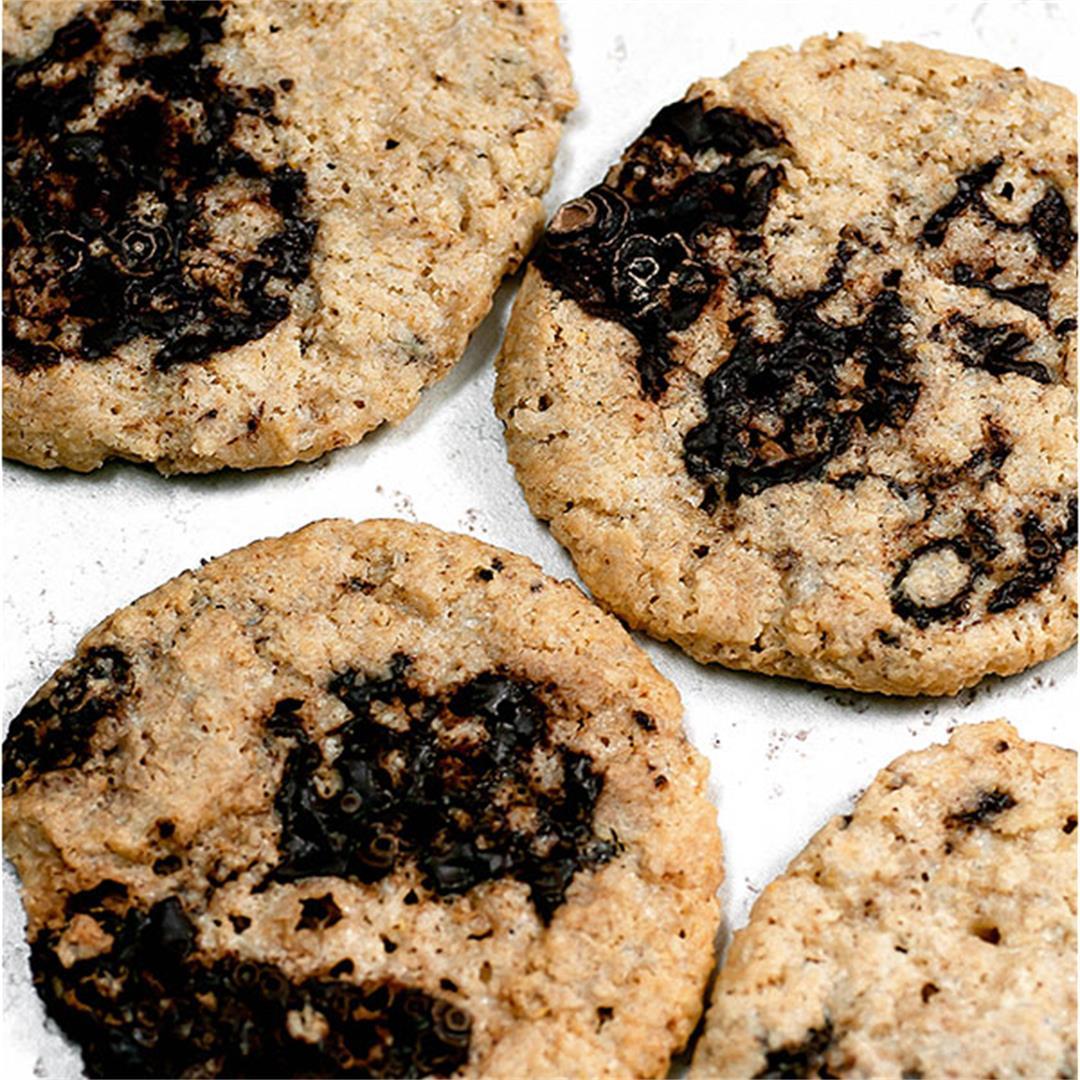 Oat Flour Cookies (AKA Crack Cookies)