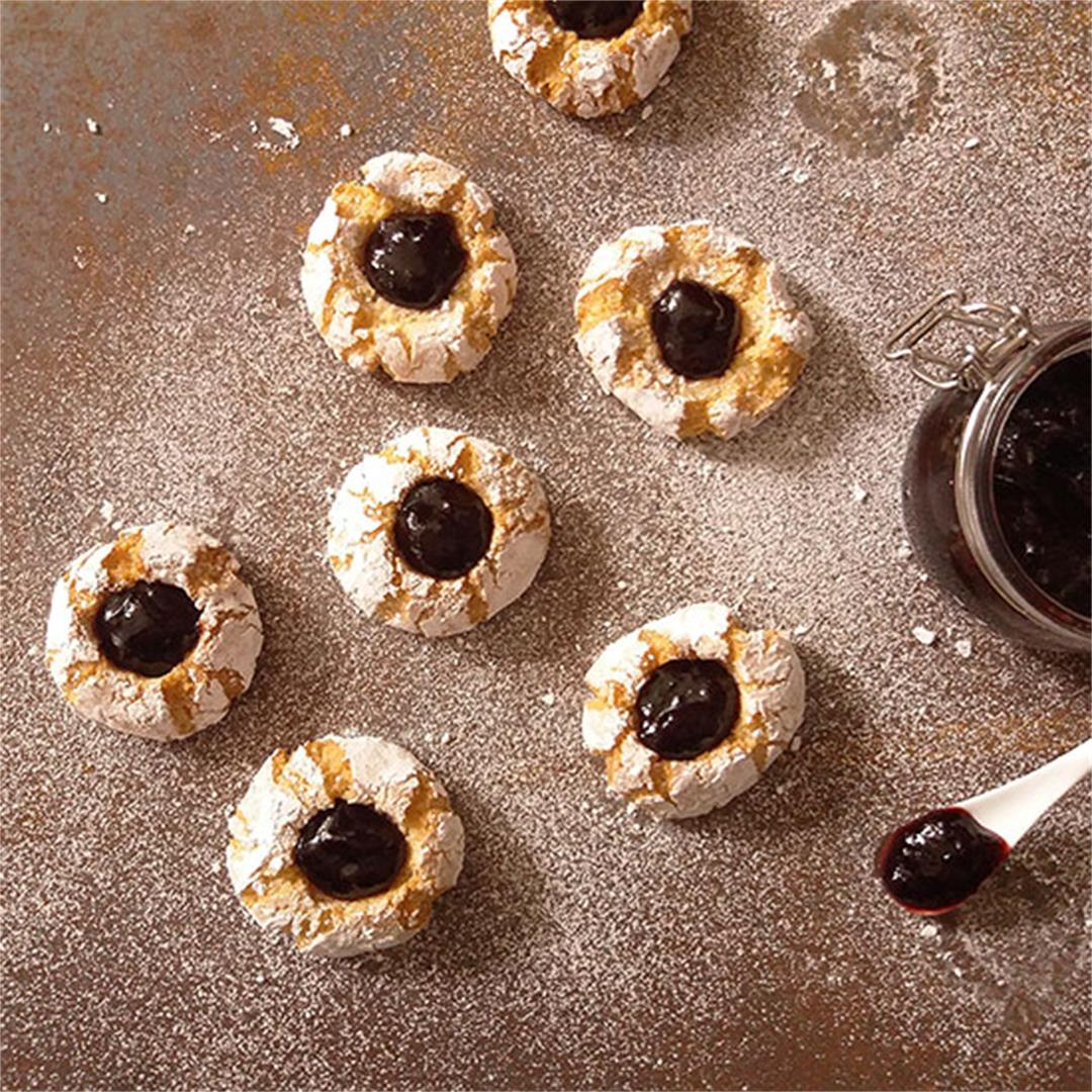 Amaretti Thumbprints