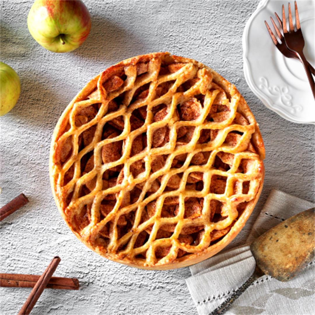 Traditional Dutch Apple Pie (Appeltaart recept)