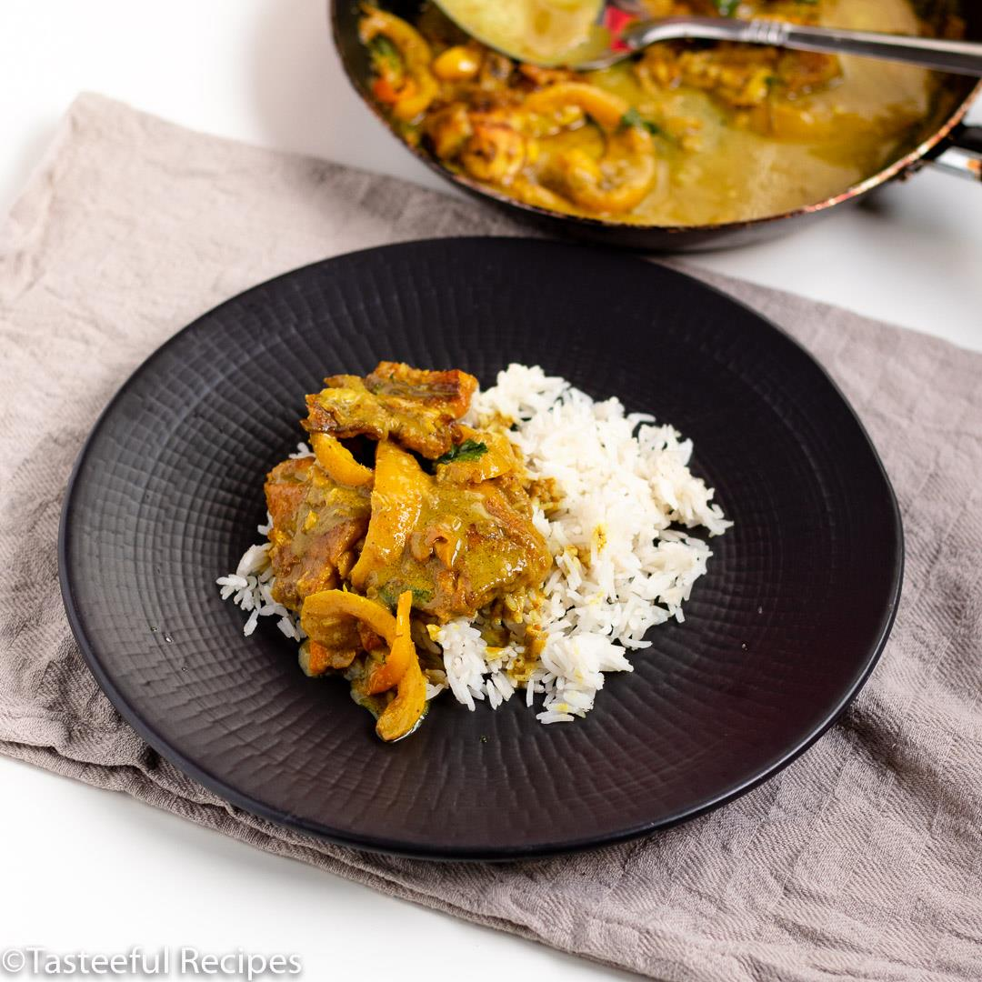Caribbean Coconut Curry Fish