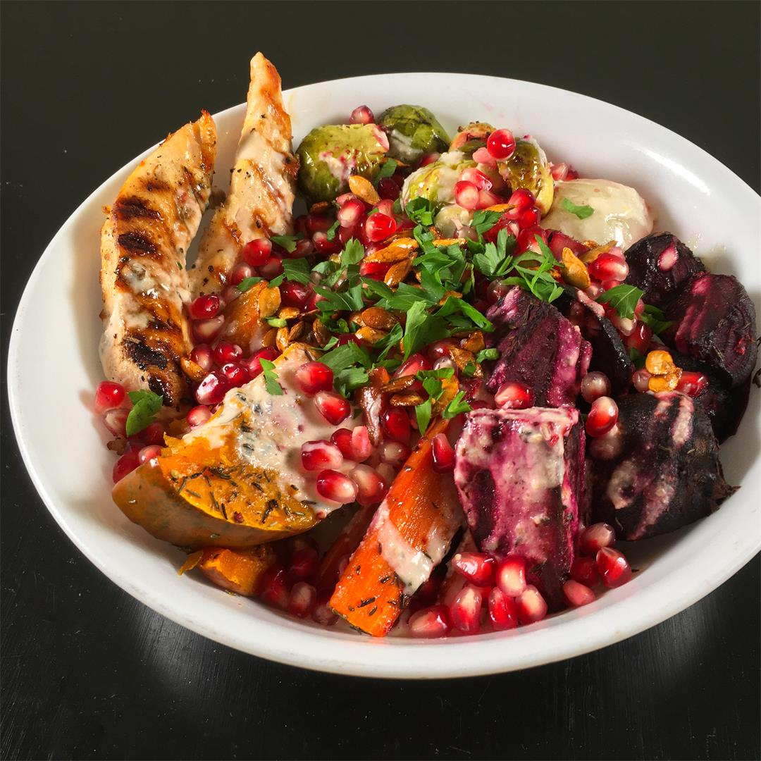 Eat More Veggies Autumn Harvest Bowls Recipe