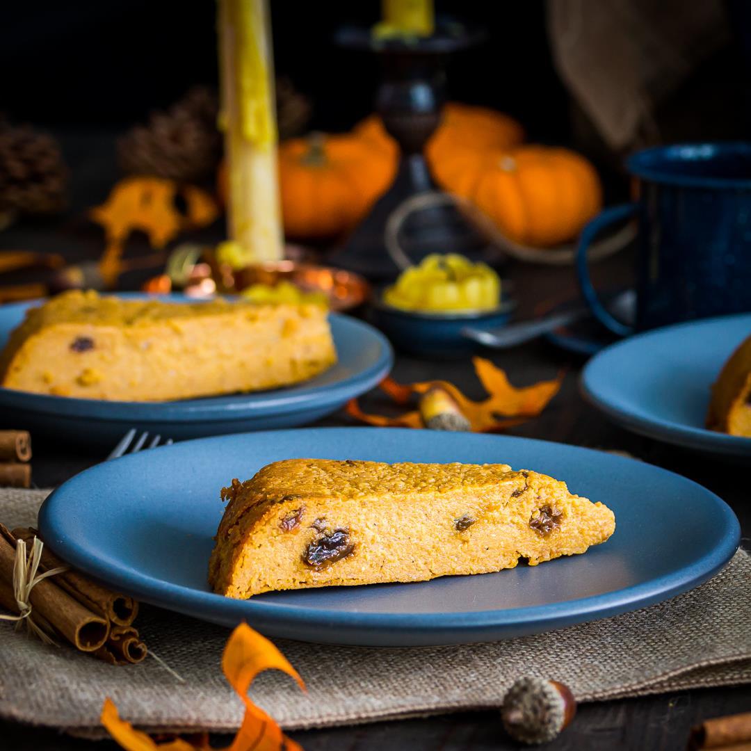 Dominican Arepa Dulce De Maiz-Cornmeal Coconut Cake-Pumpkin