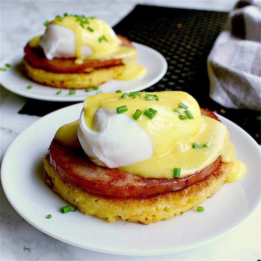 Sunday Morning Keto Eggs Benedict