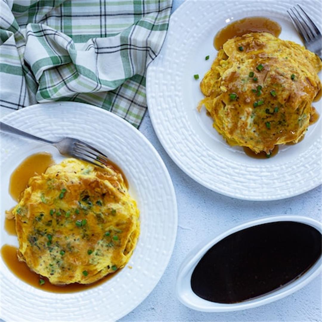 Easy Chicken Egg Foo Young