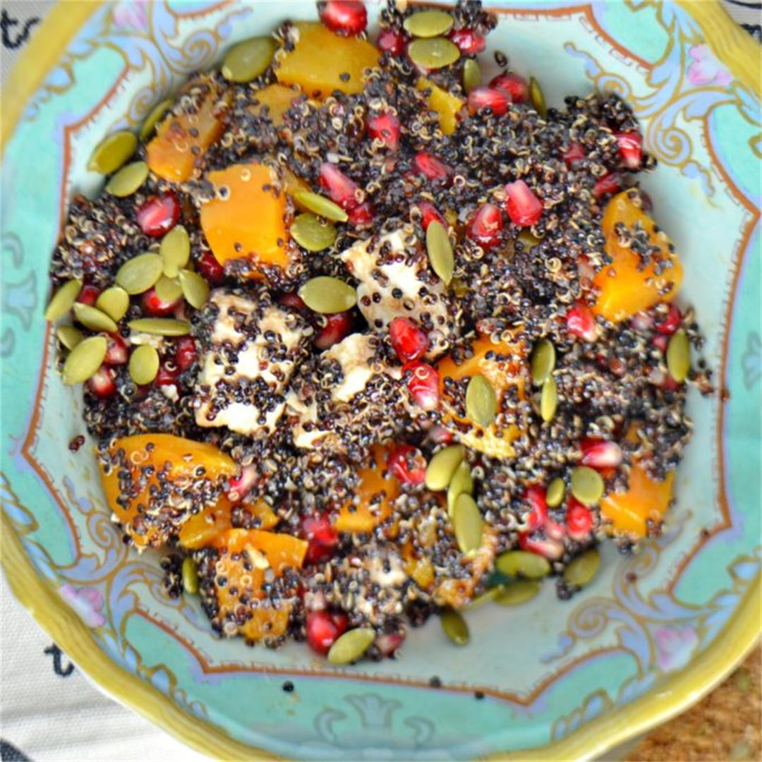 Pomegranate Pumpkin Salad — Tasty Food for Busy Mums Healthy