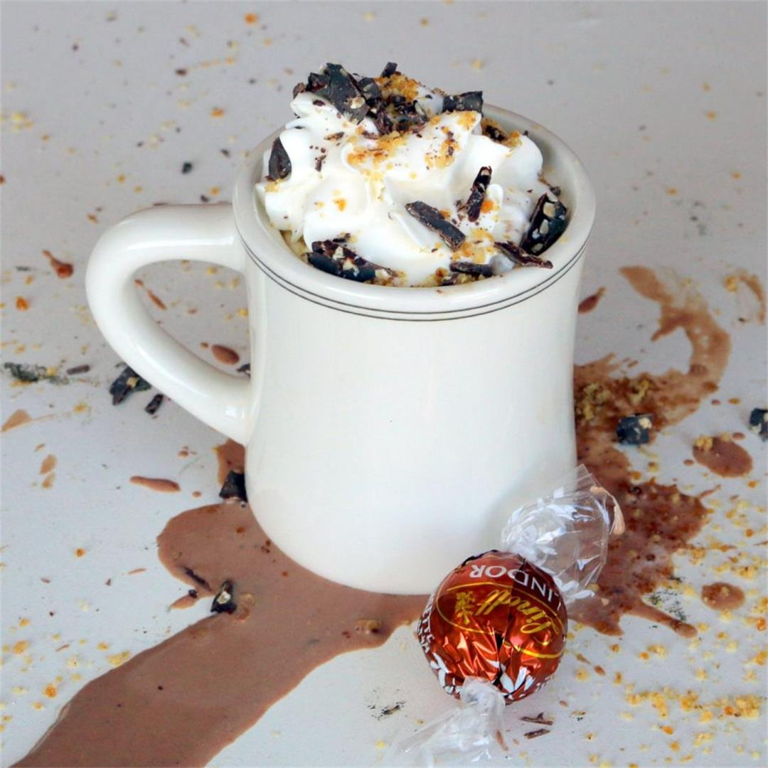 Lindor Hazelnut Hot Chocolate-Lindt Joy