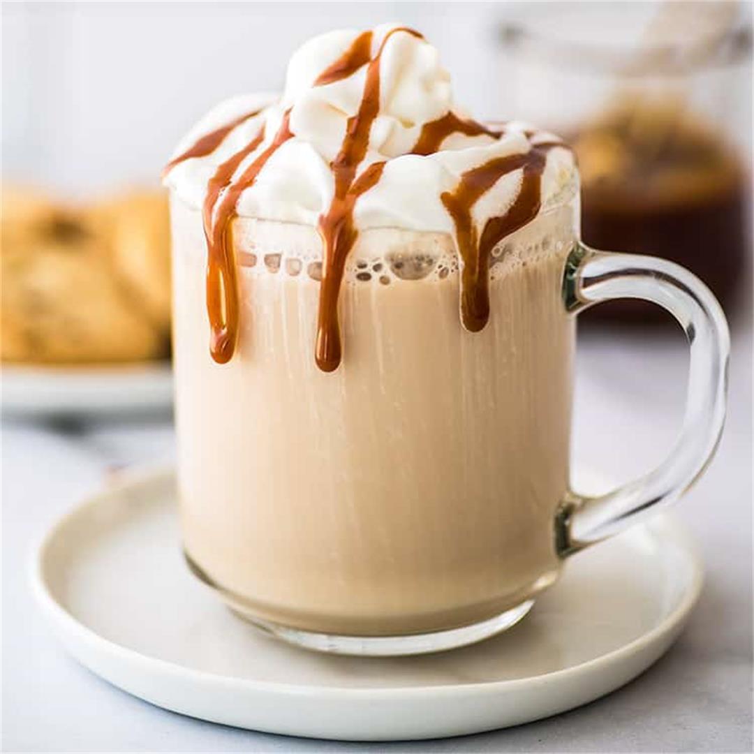 Easy Caramel Latte