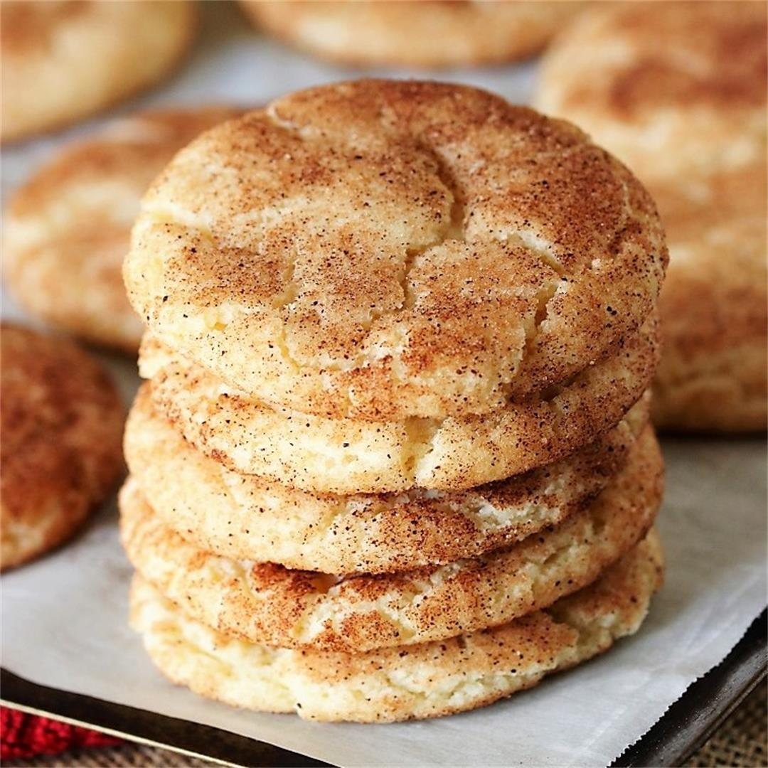 The BEST Classic Snickerdoodles