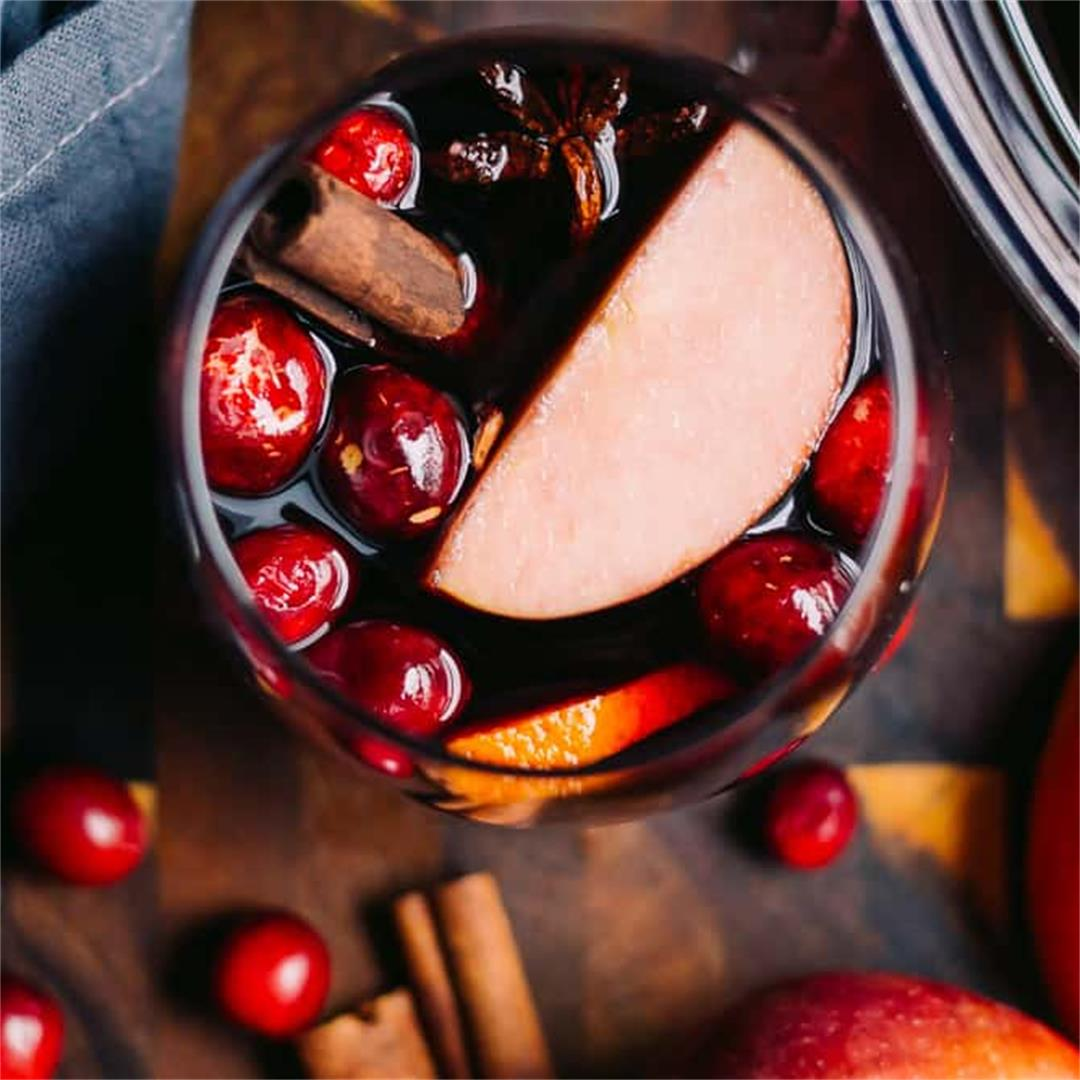 Fall Harvest Whiskey Sangria