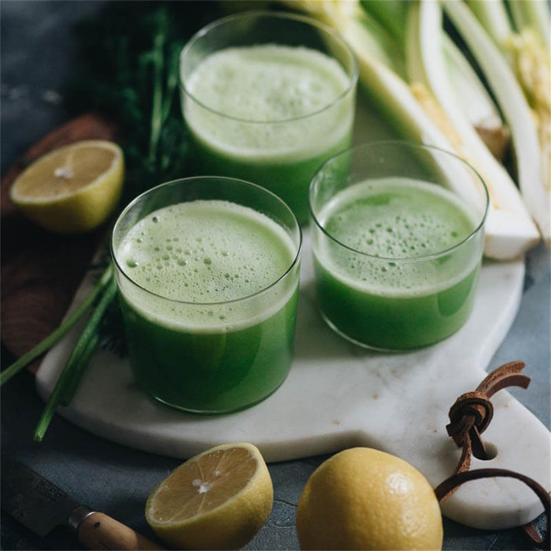3-Ingredient Celery Smoothie