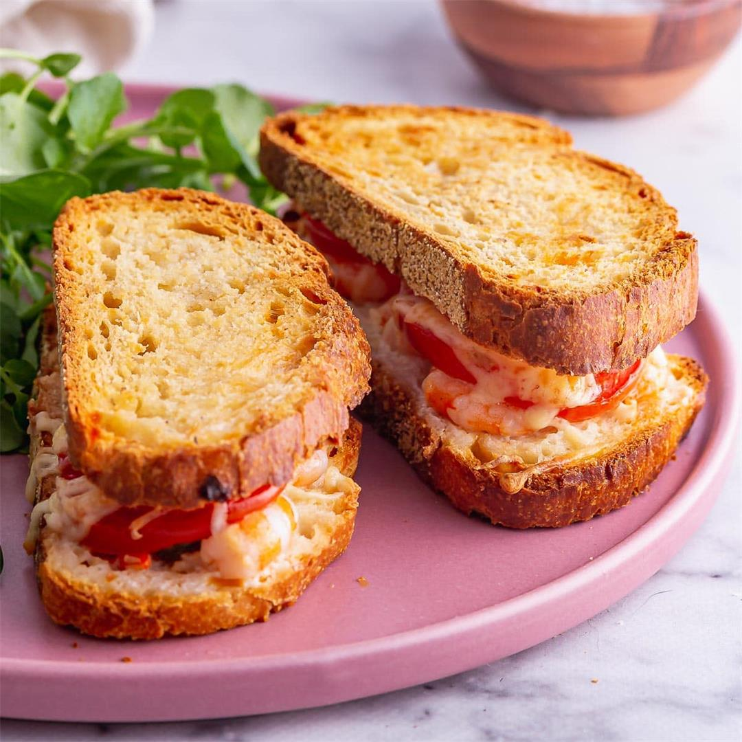 Prawn Sandwich with Melty Cheese & Tomato • The Cook Report