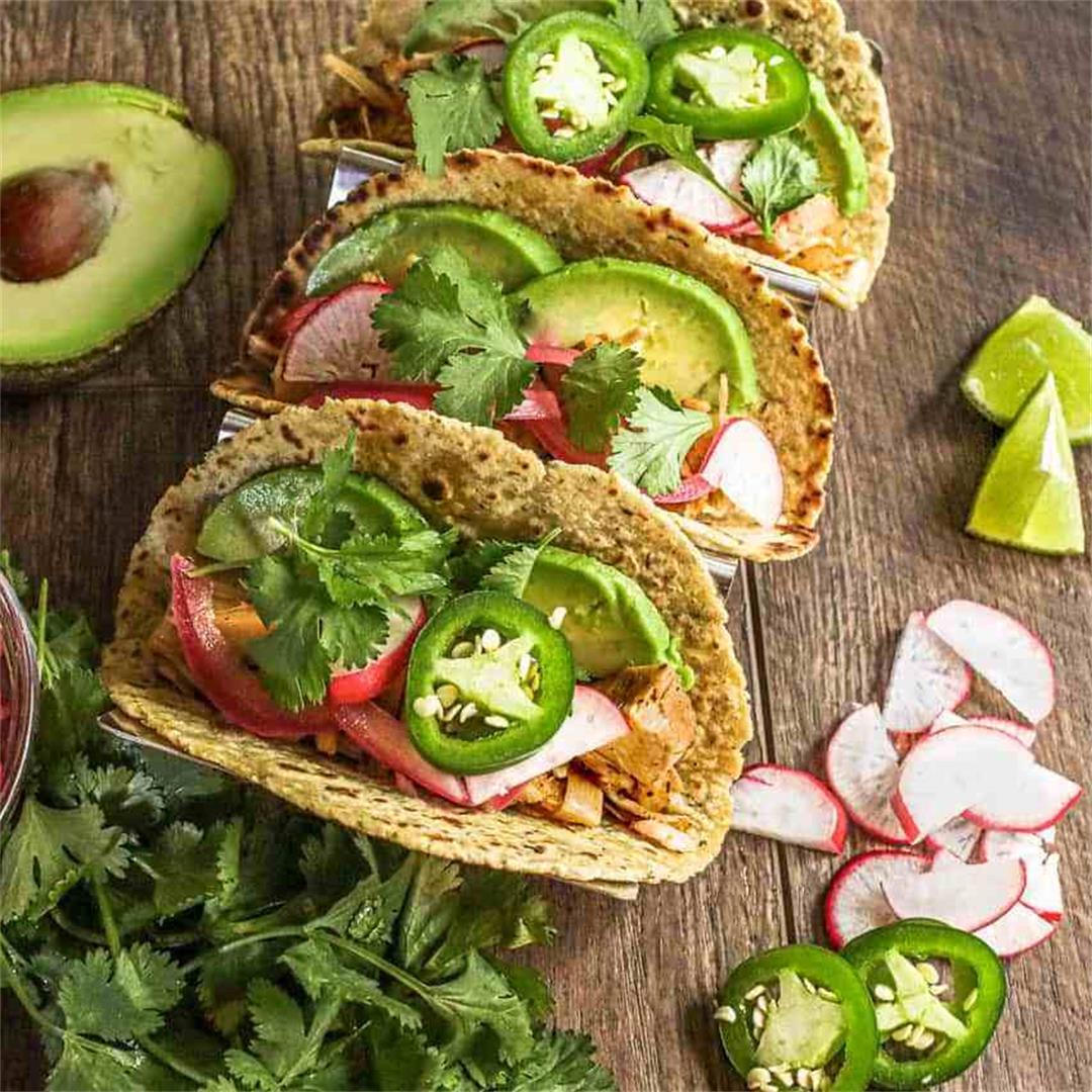 Chili Lime Jackfruit Tacos