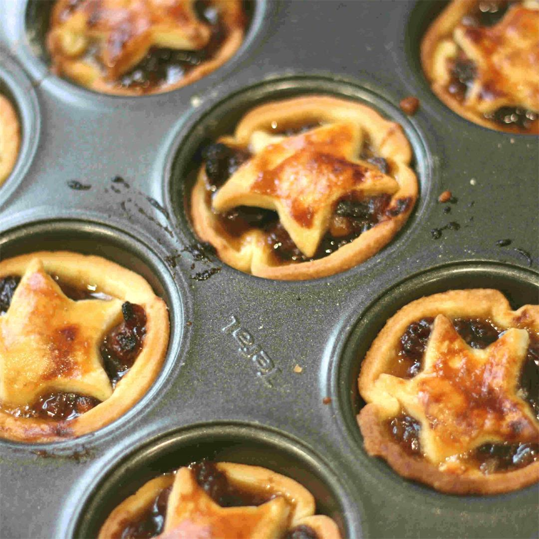 Easy mince pies recipe for children