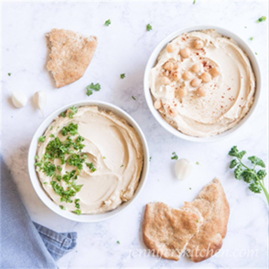 All About Hummus – and a Recipe for Healthy, Oil-Free Hummus