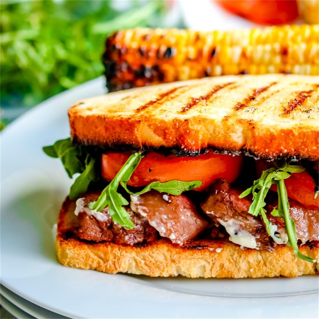 The Best Steak Sandwich You'll Ever Eat