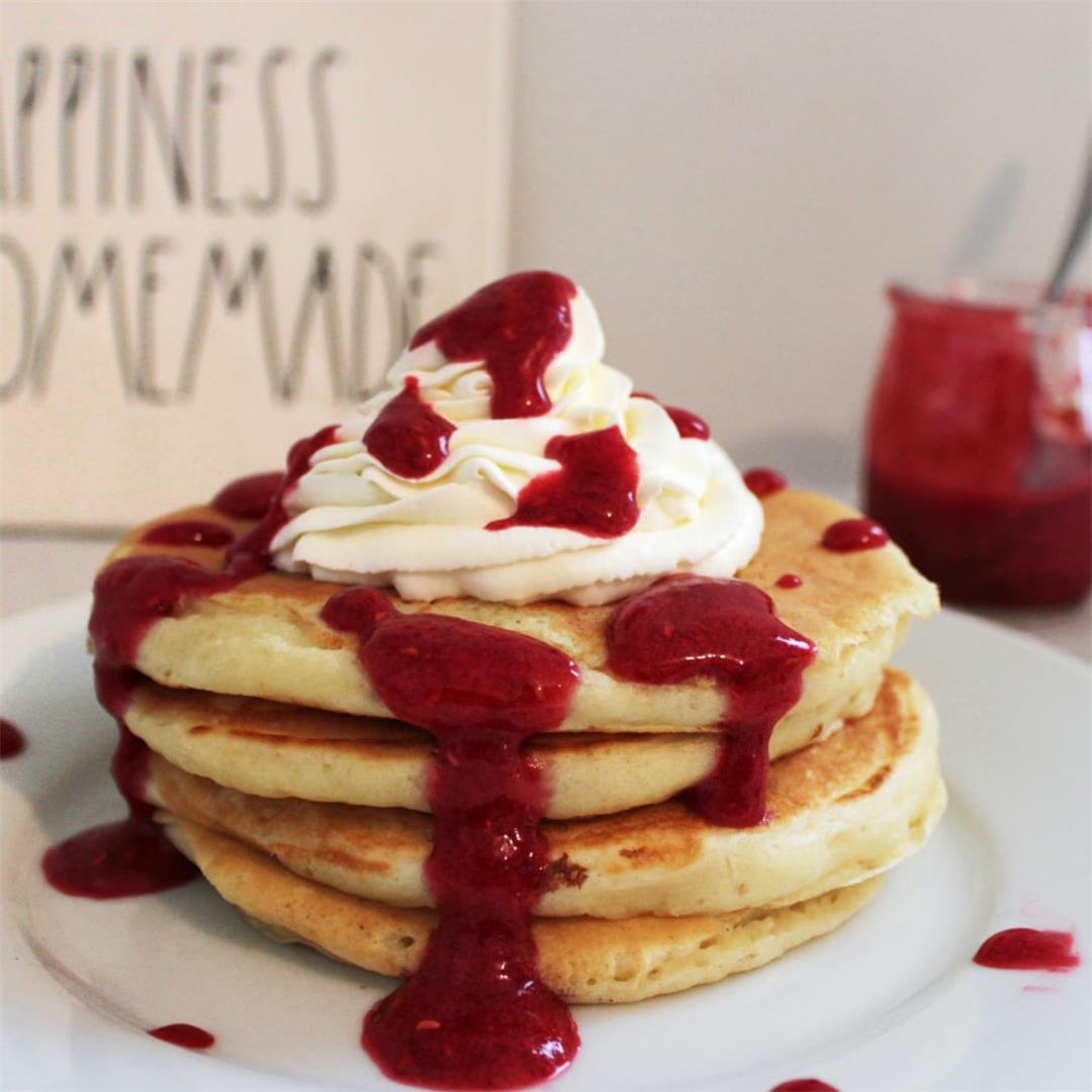 Best Fluffy Buttermilk Pancakes