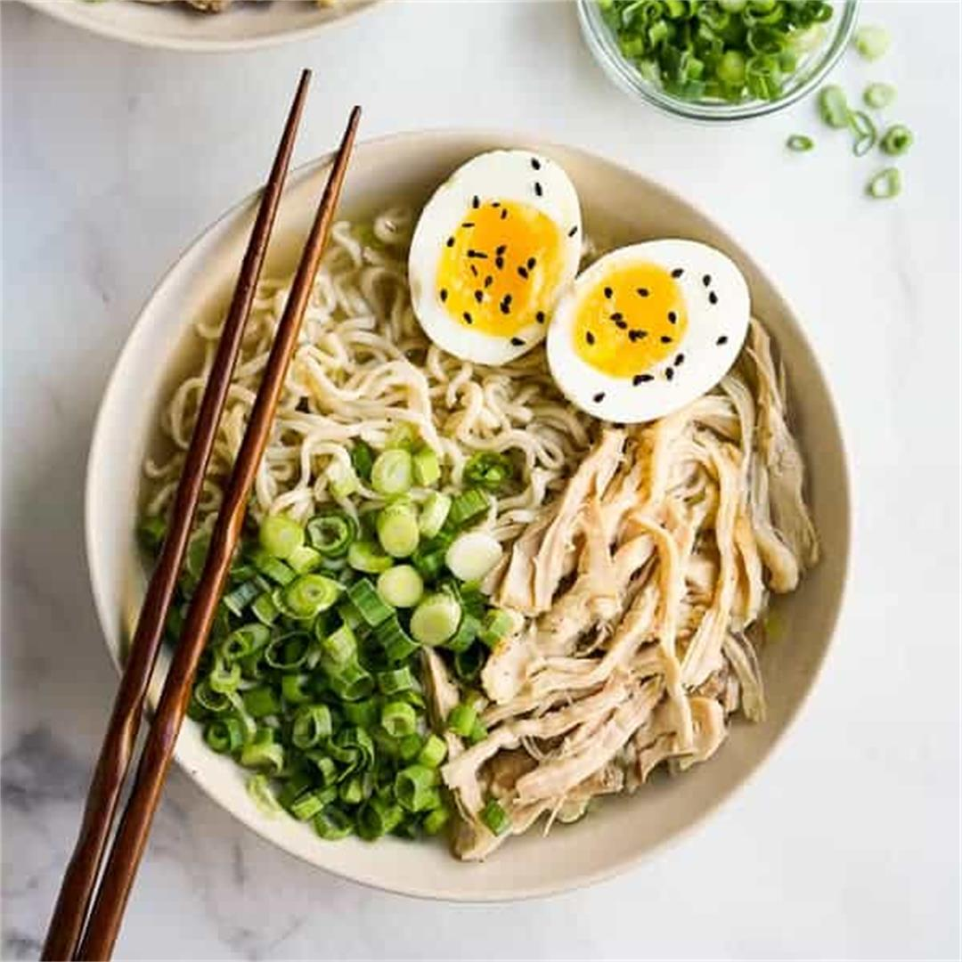 Instant Pot Chicken Ramen (Super Easy!)