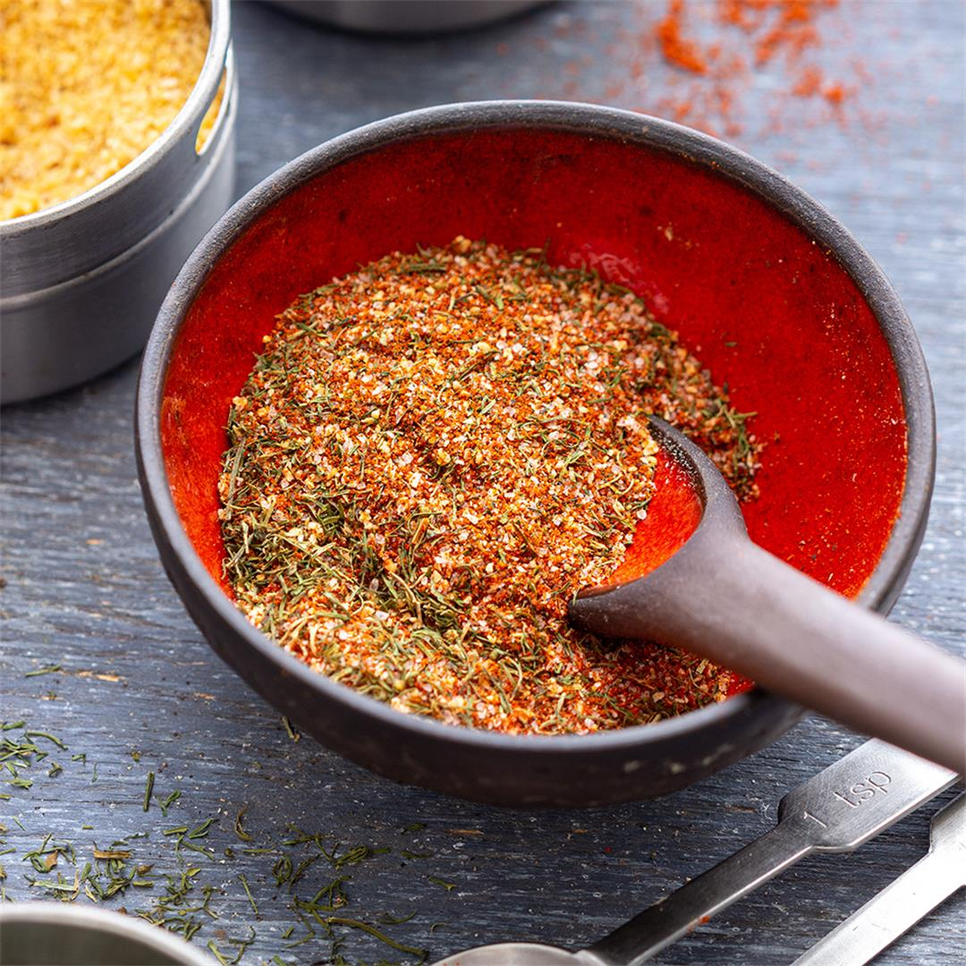 Homemade Fish Seasoning