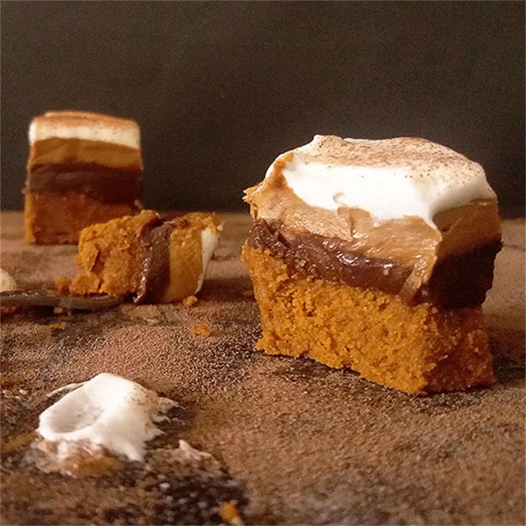 Biscoff Cookie Butter Bars