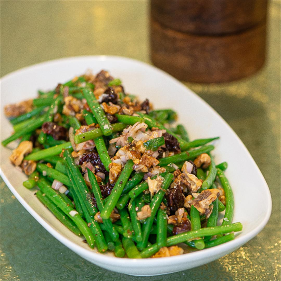 Not Your Momma's (Or Dorcas') Holiday Green Beans: Green Beans