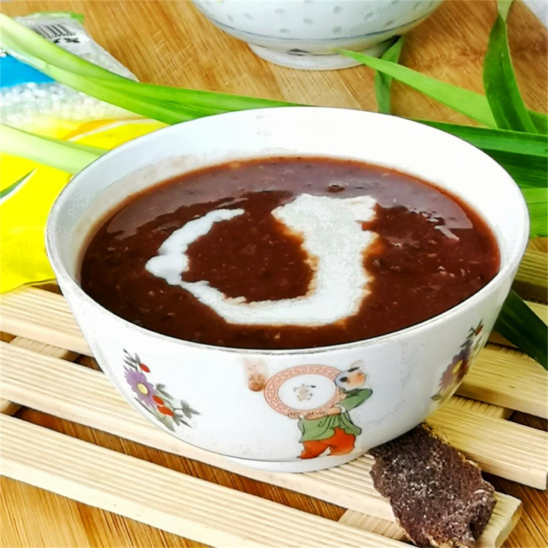 Red bean soup 红豆沙
