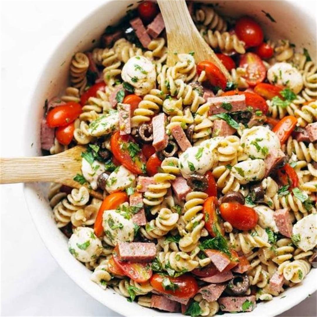 Easy Healthy Pasta Salad Recipe #No1 Pasta Salad Recipe Cold