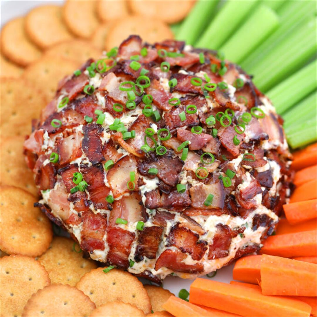Bacon Ranch Cheese Ball [Video]