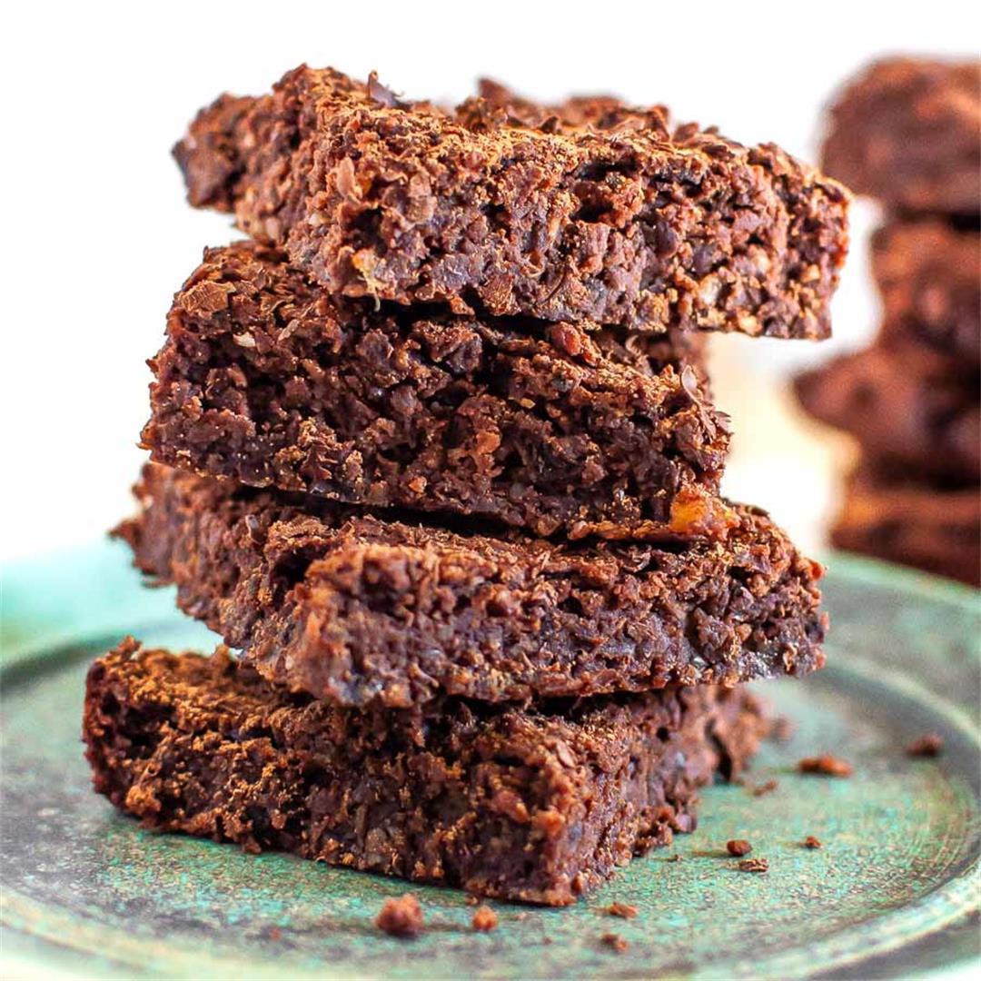 Healthy Fudgey Dairy Free Chocolate Brownies