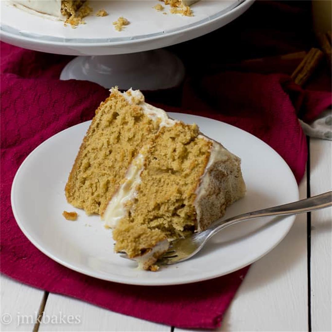 Eggnog Cake — JMK Bakes