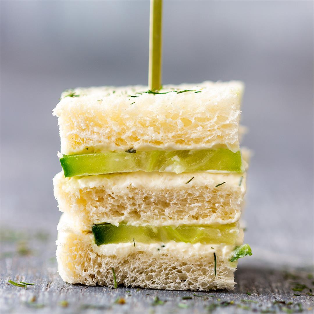 Mini Cucumber Sandwiches