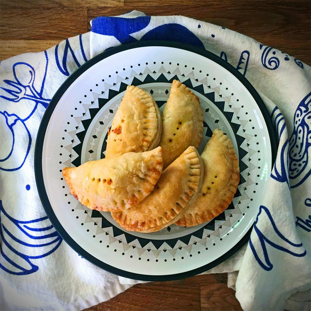 Curry Puffs from St Helena Island