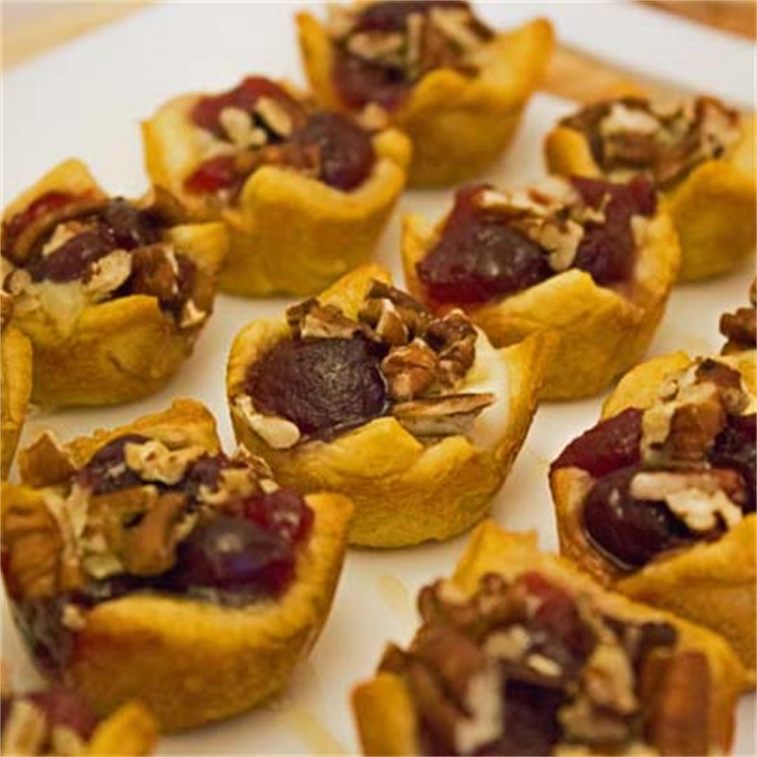 Pair it with Wine Wednesday Cranberry Pecan Brie Bites