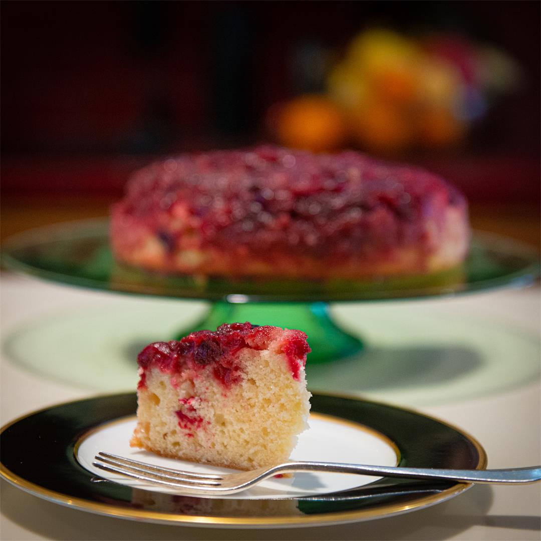 One More Thing: Cranberry Upside-Down Cake