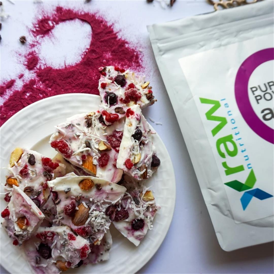Acai Yogurt Bark