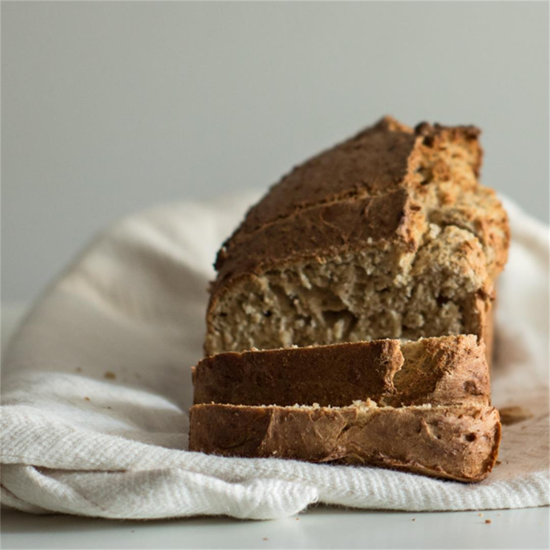 Lazy No-Knead Bread — Milk and Pop