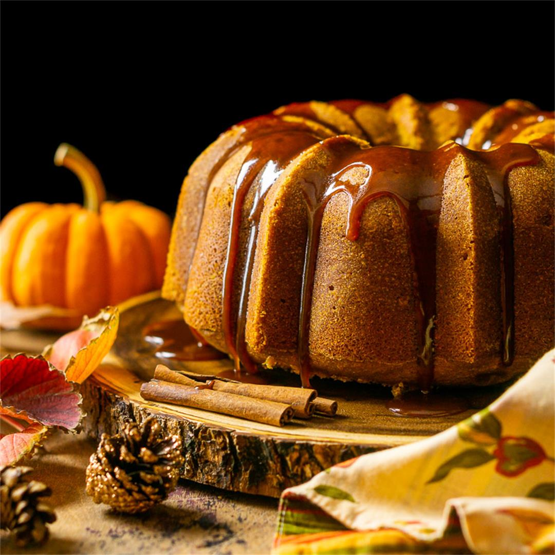 Buttermilk-Pumpkin Pound Cake